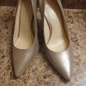 Jessica Simpson Sparkle High Heels 8.5